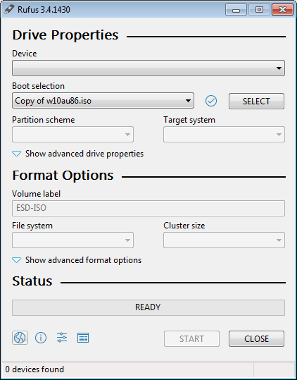 cara menggunakan rufus untuk membuat USB bootable di flashdisk