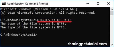 cara menghilangkan check disk saat komputer dihidupkan