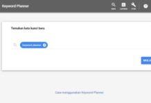 cara daftar gratis dan menggunakan google keyword planner