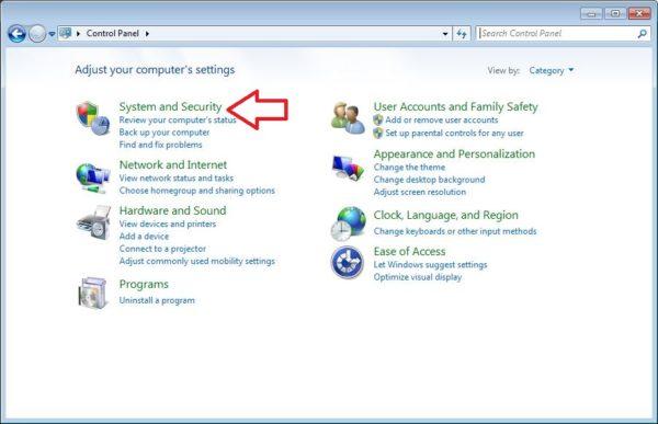 cara mematikan firewall di windows 7