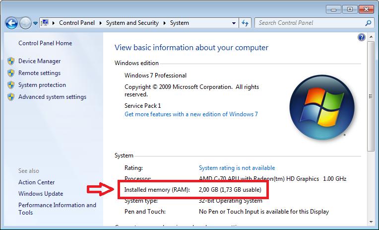 Cara cek RAM laptop