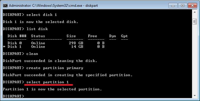 cara format flashdisk dengan cmd