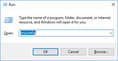membuka system configuration