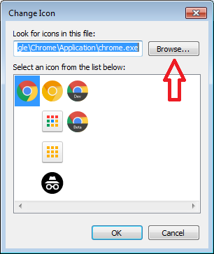 Cara mengganti icon aplikasi