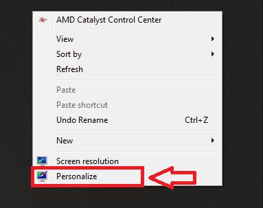 Cara mengganti icon desktop