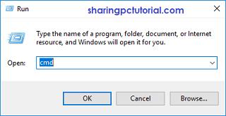 cara membuka command prompt (CMD)
