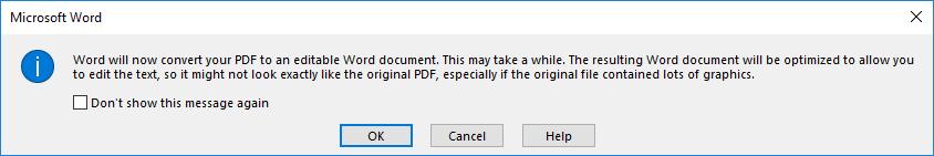 cara merubah pdf ke word tanpa aplikasi