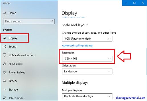 Cara mengatur Resolusi Layar Windows 7 8 dan 10 | Sharing PC Tutorial