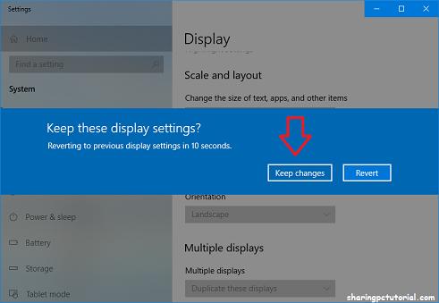 cara mengatur resolusi monitor windows 10