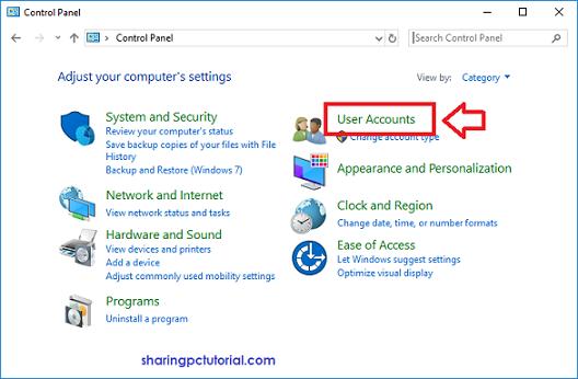 Cara menonaktifkan UAC di windows 10
