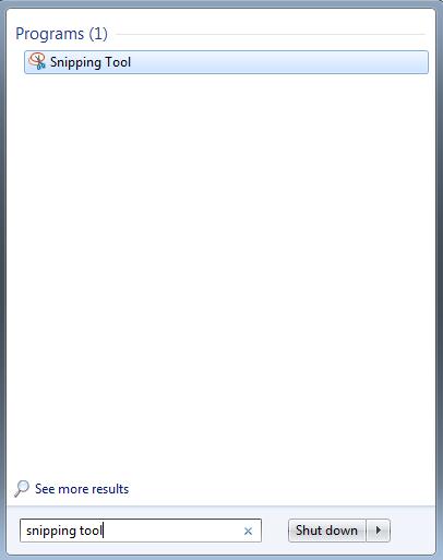 Cara screenshot di laptop windows 7