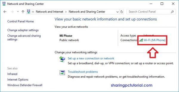 cara melihat ip address komputer