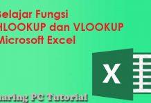 pengertian dan contoh cara menggunakan hlookup dan vlookup microsoft excel