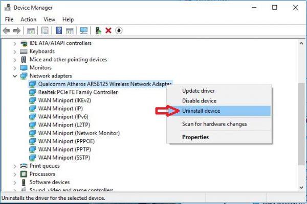 cara mengatasi laptop tidak bisa konek wifi windows 10