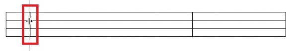 mengatur lebar kolom tabel