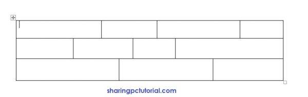 contoh tabel sembarang