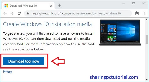cara download windows 10 iso dari microsoft