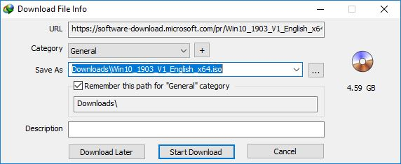 cara download windows 10 iso menggunakan IDM