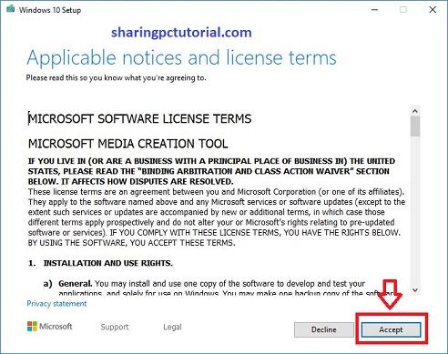 cara download windows 10 iso dari microsoft