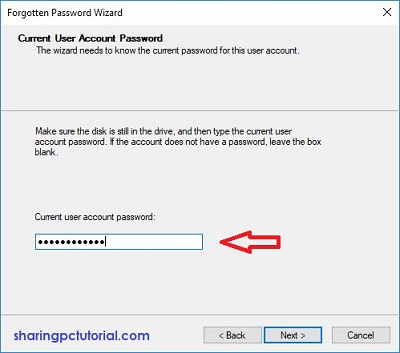 cara membuat reset password disk