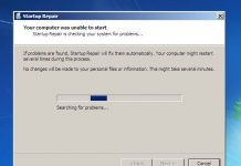 cara mengatasi startup repair windows 7 berulang-ulang