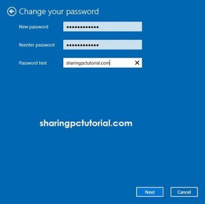 cara mengganti password login komputer windows 10