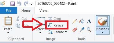 cara mengecilkan resolusi foto di laptop