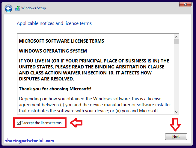 windows 10 software license terms