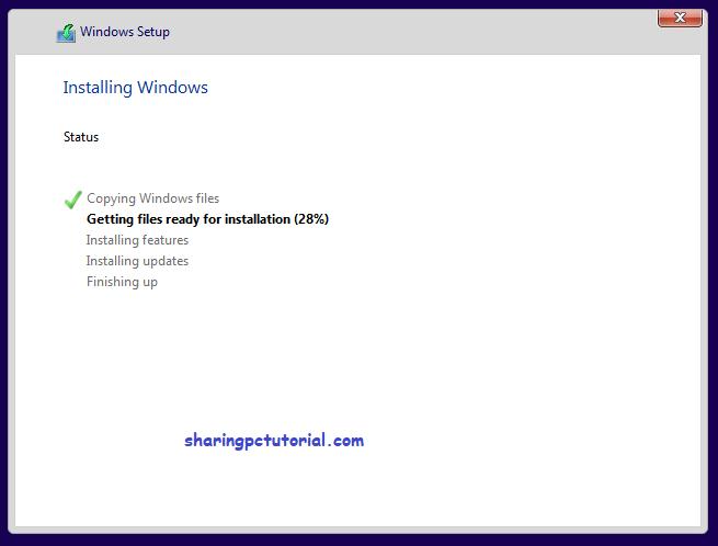 menginstal ulang windows 10