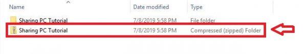 cara membuat file zip dan rar di windows 10