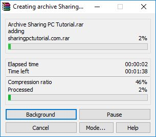 cara membuat file zip dan rar di windows 10