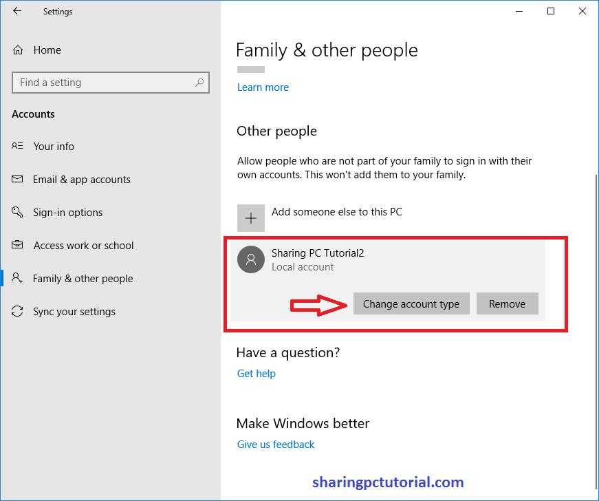 Cara Menambahkan Lokal Akun di Windows 10