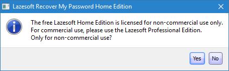 Lazesoft Recover My Password Free