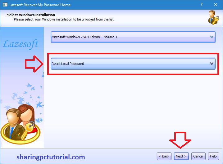 Cara Reset Password Windows 10